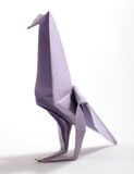 Oiseau d'origami Photos stock