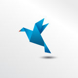 Oiseau d'Origami Illustration Stock