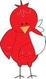 Oiseau dans un bandage Photo libre de droits