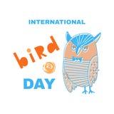 Oiseau day3 Photo libre de droits
