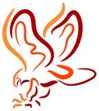Oiseau de chasse Images stock