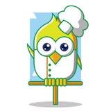 Oiseau de chef Photos stock