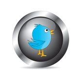 Oiseau de communication illustration libre de droits