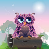 Oiseau de Cuty dans le bois illustration libre de droits