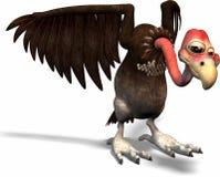 Oiseau de dessin animé Image libre de droits