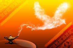Oiseau de fumée Photos libres de droits