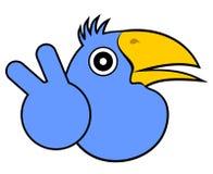 Oiseau de gagnant d'amorce Image libre de droits
