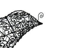 Oiseau de lacet sur un blanc Photos libres de droits