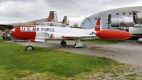 Oiseau de Lockheed T-33 T Photographie stock