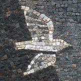 Oiseau de mosaïque image libre de droits