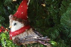 Oiseau de Noël photographie stock