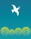 Oiseau de paix Image stock