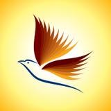Oiseau de ronflement Image stock