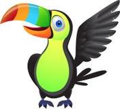 Oiseau de Toucan Images libres de droits