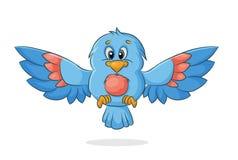 Oiseau de vecteur Images libres de droits