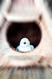 Oiseau en céramique Photo libre de droits