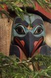 Oiseau esquimau de pôle de totem Photographie stock