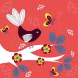 Oiseau génial illustration libre de droits