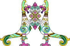 Oiseau ornemental Images libres de droits