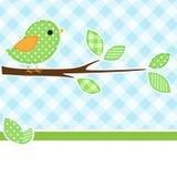 Oiseau sur le branchement Photographie stock libre de droits