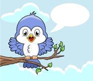 Oiseau sur le branchement Photos libres de droits