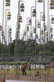 Oiseaux chantant des contets Photo stock