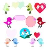 Oiseaux d'amant Photographie stock
