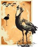 Oiseaux d'eau illustration de vecteur