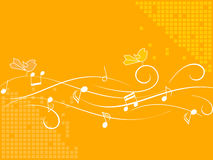 Oiseaux de chant Image stock