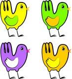Oiseaux de source Image libre de droits