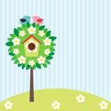 Oiseaux sur l'arbre Images libres de droits