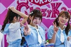 Oishi Greentea Present Japan Expo Thailand 2016 Stock Images
