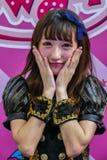 Oishi Greentea Present Japan Expo Thailand 2016 Royalty Free Stock Photography