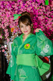 Oishi Greentea Present Japan Expo Thailand 2016 Royalty Free Stock Images