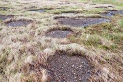oisolerad lapppermafrost Royaltyfri Bild