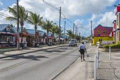 Oistins Barbados västra Indies Arkivbild