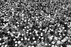 Oitava de todos os Saint Olhar artístico em preto e branco Imagem de Stock