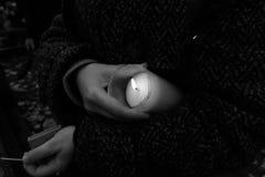 Oitava de todos os Saint Olhar artístico em preto e branco Fotografia de Stock Royalty Free