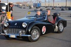 Oitavo circuito dos carros históricos do porto Fotografia de Stock Royalty Free