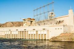 Produção de electricidade hidroelétrico Fotos de Stock Royalty Free