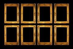 Oito frames Imagens de Stock