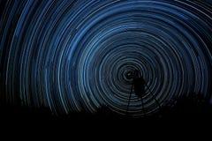Oito horas da luz das estrelas Imagens de Stock Royalty Free