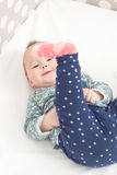 Oito meses de bebê idoso Imagem de Stock