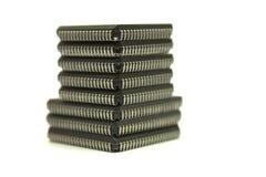 Oito microplaquetas isoladas Foto de Stock Royalty Free