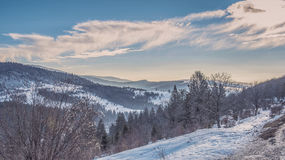 Oituz dolina Rumunia Fotografia Royalty Free