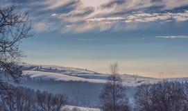 Oituz dolina Rumunia Fotografia Stock