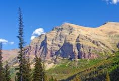 Ojämn Escarpment i den västra amerikanen arkivfoton