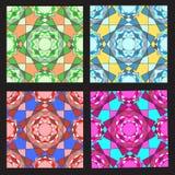 Ojämn färgmosaikvektor Arkivbilder