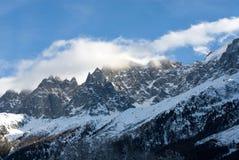 ojämna france berg arkivfoton