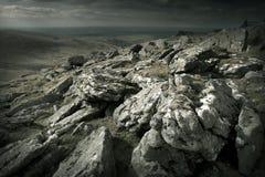 Ojämnt löst landskap Fotografering för Bildbyråer